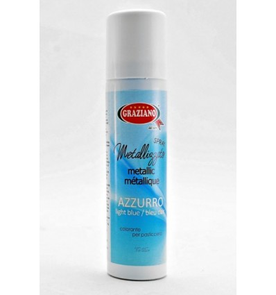 Colorante alimentare spray metallizzato 75 ml